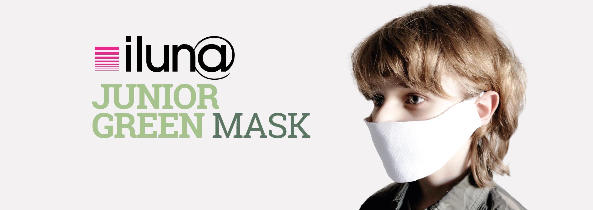 Junior Green Mask